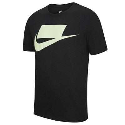 【Footwear Corner 鞋角】Nike Sportswear M Tee 螢光綠空白格大勾短袖上衣