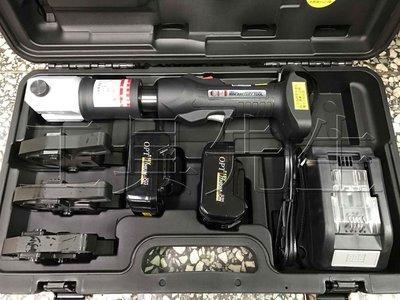 含稅價/NWS-1 IC智能控制/附4.0Ah電池x2【工具先生】OPT/18V 鋰電 充電式 壓接機 白鐵管/不鏽鋼管