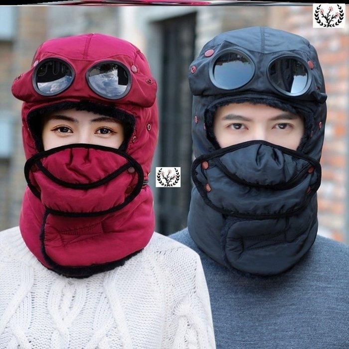 装备保暖頭套男冬季東北騎車防風頭帽女冬天滑雪防寒護臉面罩騎行裝備滑雪装备