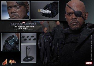 ++全新 HotToys MMS315 Captain America 復仇者聯盟  The Winter Soldier 神盾局 局長 NICK FURY