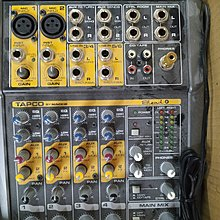 Tapco By Mackie Blend 6, 6 channel , 8 input Compact Mixer 擴音機 正常