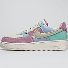 D-BOX Nike Air Force 1 Low Easter Egg 粉 彩虹拼接 皮革 低幫板鞋 籃球鞋