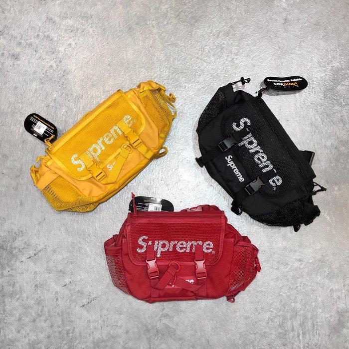 【Faithful】SUPREME 48th WAIST BAG【SS20B5】紅/黑/黃  腰包 斜背包 肩包 現貨