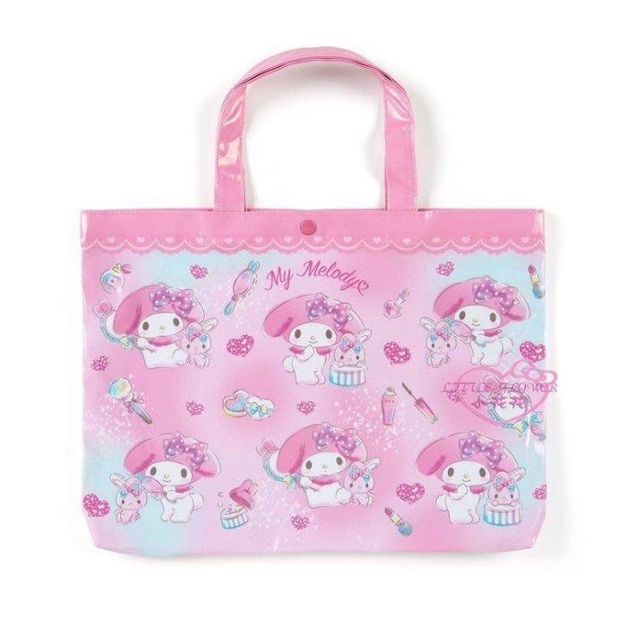 ♥小花花日本精品♥Hello Kitty美樂蒂蹦蹦兔哆啦A夢史努比 防水袋 收提袋 外出袋 補習袋42174202