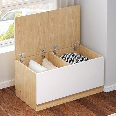 居家用品 桌子 椅子 家具飄窗柜儲物柜陽臺收納置物柜窗邊可坐式地柜矮柜大容量雜物柜靠墻
