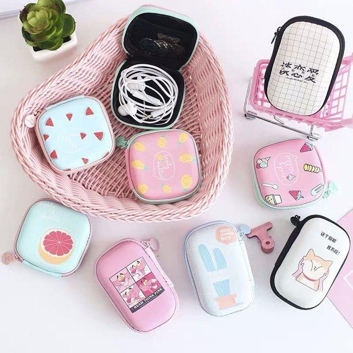 紫滕戀推出韓國可愛耳機包充電線硬幣包 -2