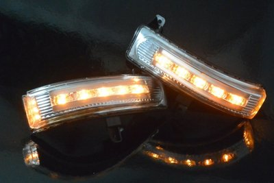金強車業 非台版馬自達MAZDA5  後視鏡側燈三功能 LED方向燈 定位燈 位置燈 照地燈 工廠直送價