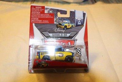 迪士尼 Car's合金場邊加油車