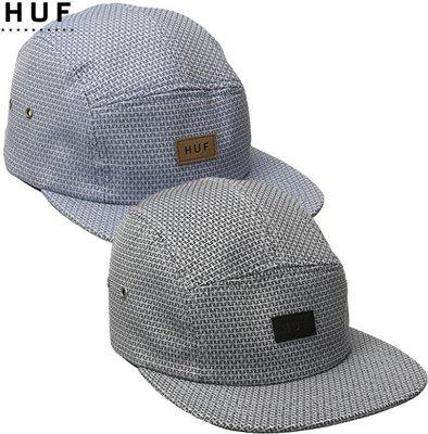 【超搶手】 全新正品 最新款 HUF REGAL VOLLEY  五分割帽 棒球帽 黑色 藍色