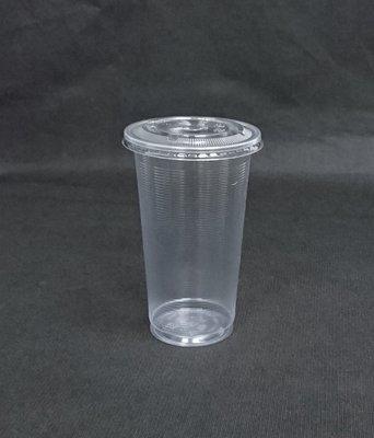 100個+蓋 700cc【AO700】PP杯 塑膠杯 冰淇淋杯 冷熱共用杯 飲料杯 霧面杯 AO杯 橫紋杯 透明杯
