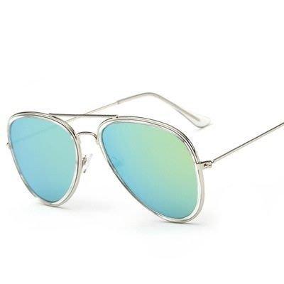 太陽眼鏡 偏光墨鏡-透明內圈炫彩設計男女眼鏡配件12色73en16[獨家進口][米蘭精品]