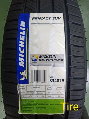 (Tire) 米其林 MICHELIN PRIMACY SUV  235/60-18
