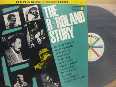J005*Roulette*日版黑膠*薩克斯風Charlie Parker –The Birdland Story*NM
