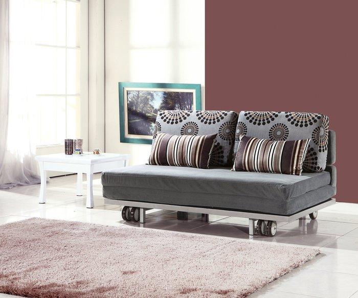 【南洋風休閒傢俱】沙發床系列 - 洛美雙人沙發床  坐臥兩用床  套房沙發 (JH601-2)