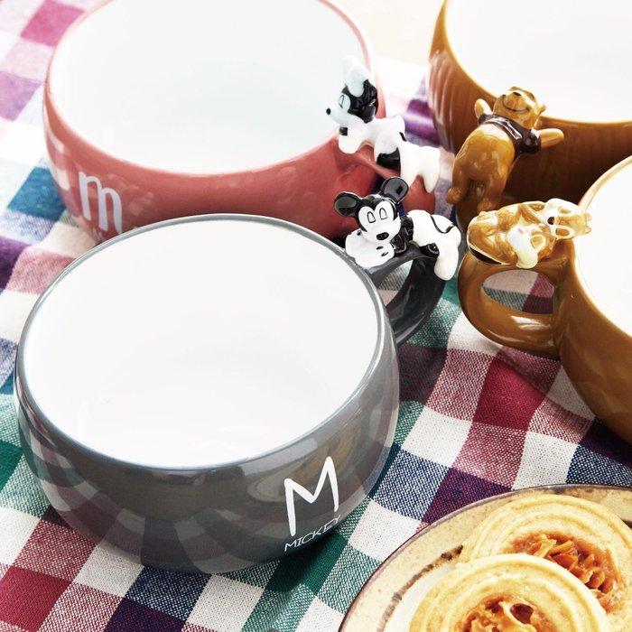 年終折扣活動~迪士尼Disney《現貨》超人氣趴趴睡晚安湯杯 馬克杯 湯碗~米奇 米妮 維尼~日本正品~共3款~心心小