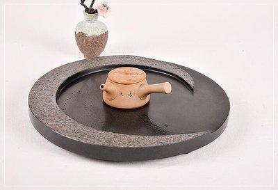 【萬寶路-月圓茶盤】特價 茶具茶盤/ 石茶磐/ Tea board / Stone / Tea Ware