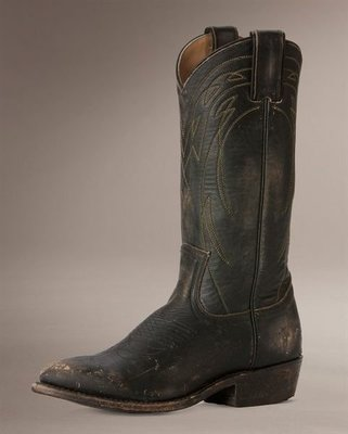 全新 FRYE Billy Pull On 中長靴 洗舊黑 SZ6..現貨在台灣...8500含國際郵資
