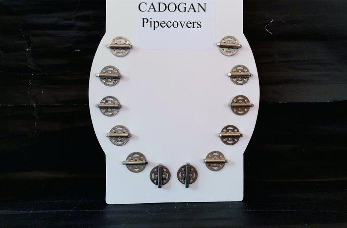 ONE*$1~英國製*CADOGAN Pipecovers煙斗斗缽《 防風蓋 》馬口鐵