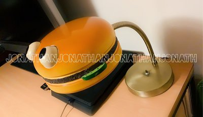 1981 VINTAGE MCDONALD'S HAMBURGER LAMP