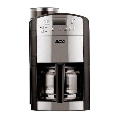 ZIHOPE 咖啡機 ACA/北美電器 AC-M125A咖啡機家用全自動磨豆一體機美式咖啡機壺ZI812