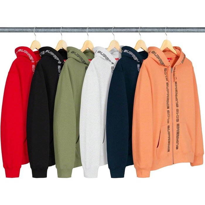 【美國鞋校】預購 SUPREME SS19 Topline Zip Up Sweatshirt 外套