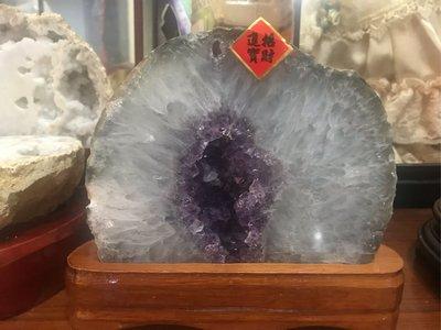 瑪瑙紫晶洞