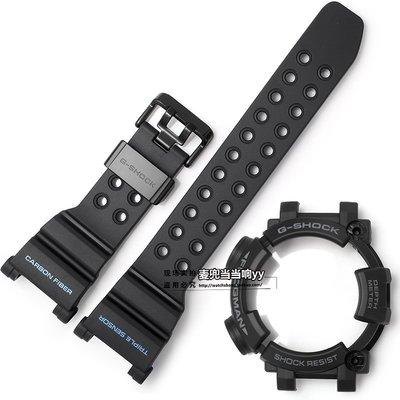 【尋寶圖】現貨!手錶配件錶帶卡西歐手表帶男GWF-D1000B-1碳纖表帶FROGMAN六代蛙人G-SHOCK配件91079