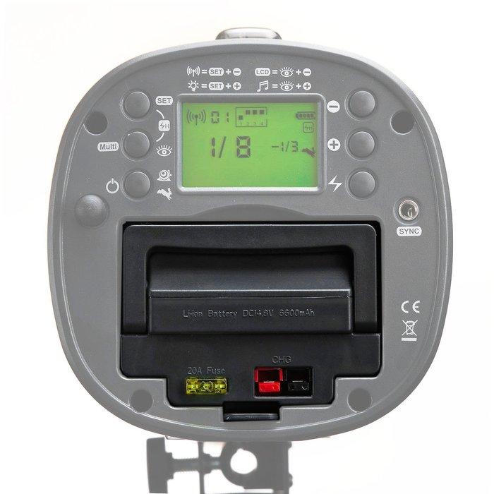 呈現攝影-JINBEI 新版HD-600 專用鋰電池 高速