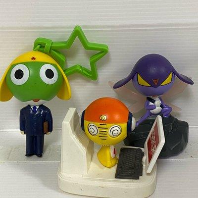 3隻一起賣@二手keroro軍曹@McDonald's 麥當勞@企業娃娃企業寶寶企業商標收藏早期懷舊玩具公仔玩偶