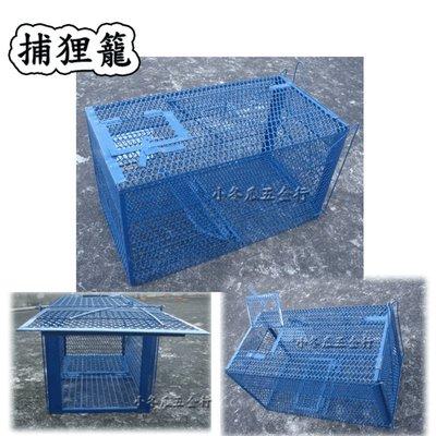踏板式 捕獸籠/捕狸籠/ 捕鼠籠/ 捕貓籠 /捕兔籠/鐵籠/籠子 ~ (安全,動物不受傷)