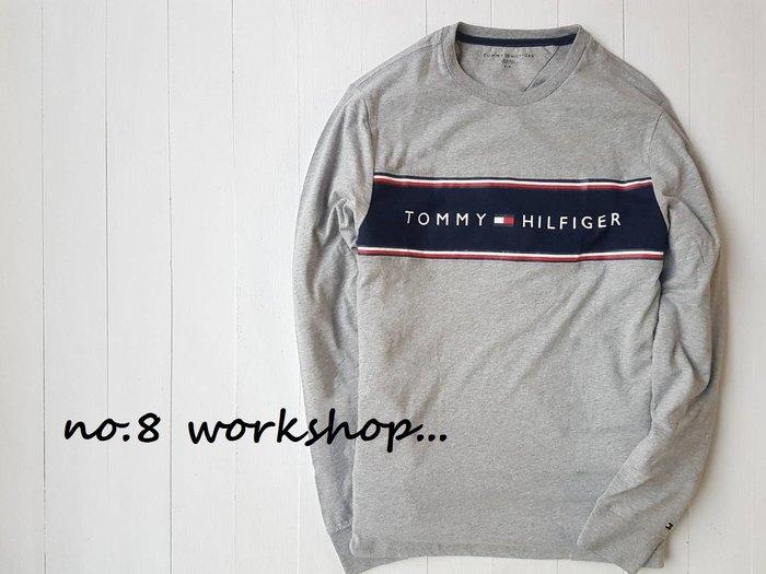 T☆【男生館】☆【TOMMY HILFIGER LOGO印圖長袖T恤】☆【TOM002X4】(S-L-XL)12/9到貨