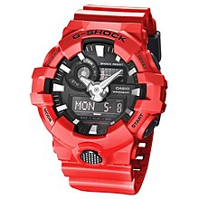 佐敦門市 現貨 100% 全新 Casio G-Shock GA-700-4A 經典 熱賣 人氣 超輕 黑紅 Black Red 強悍 鮮明 一年保養