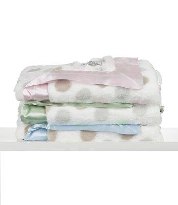 [小寶的媽] 美國小長頸鹿 Little Giraffe Luxe Dot 豪華彩色點點款嬰兒毯 嬰兒被 攜帶毯