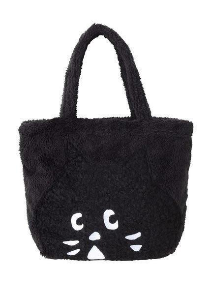 《Greens selection》日本購入Ne-net 絨毛 購物袋/手提包/肩背包/側背包