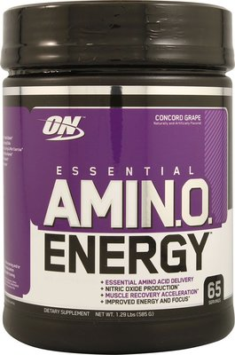 🇺🇸美國熱銷ON AMINO ENERGY綜合胺基酸能量飲品(1.29磅)葡萄口味Optimum Nutrition