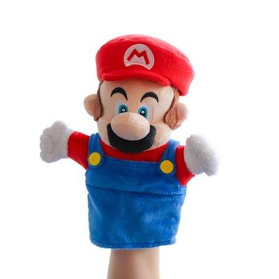 預購 美國帶回 Super Mario 超級瑪利兄弟 手偶 公仔