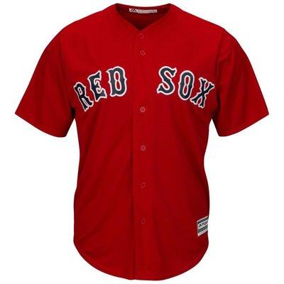 MLB 美國職棒 大聯盟 波士頓 紅襪隊 Boston Red Sox 棒球服 青年版 棒球衣 無背號
