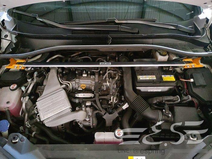 阿宏改裝部品 E.SPRING TOYOTA C-HR CHR 鋁合金 引擎室拉桿 井字拉桿 後下拉桿 附發票