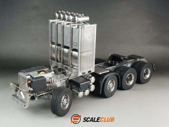 【喵喵模型坊】SCALECLUB 1/14 SCANIA 8X8 重型拖頭底盤組 (DP-SC-88)