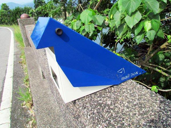 ☆成志金屬☆當季新品」設計款鳥型304不鏽鋼信箱,寫意大方,極具生活感之悠然意像