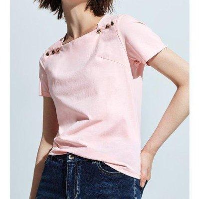 春夏新品MOMA 粉紅色簡約上衣 喜歡DITA/JOAN/abito