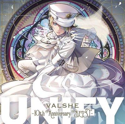 代購 VALSHE 10周年紀念專輯 UNIFY 10th Anniversary BEST 通常盤 CD