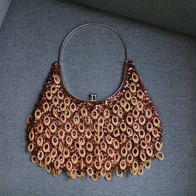 手提 包 木珠子 晚宴 包 -優雅復古時尚百搭女包包73sn8[獨家進口][巴黎精品]