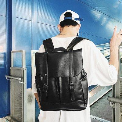 包包 雙肩包 大包 旅行包 防水包復古休閑雙肩包男士背包韓版學生書包女時尚潮流運動旅行電腦男包