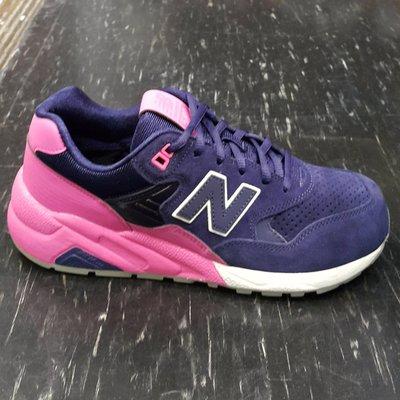 new balance 580 MRT580UP 紫藍 白色 粉紅色 輕量化 慢跑鞋 情侶款