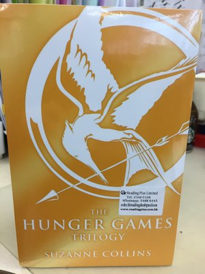 The Hunger Games Trilogy英文小說(全新未拆封)