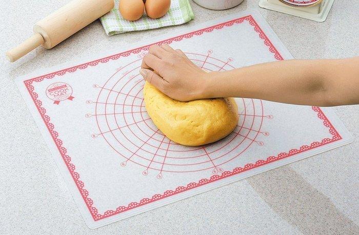 【東京速購】 日本 下村 Silicon Cook Mat 麵糰 矽膠墊 揉麵墊  烘焙墊 工作墊-現貨