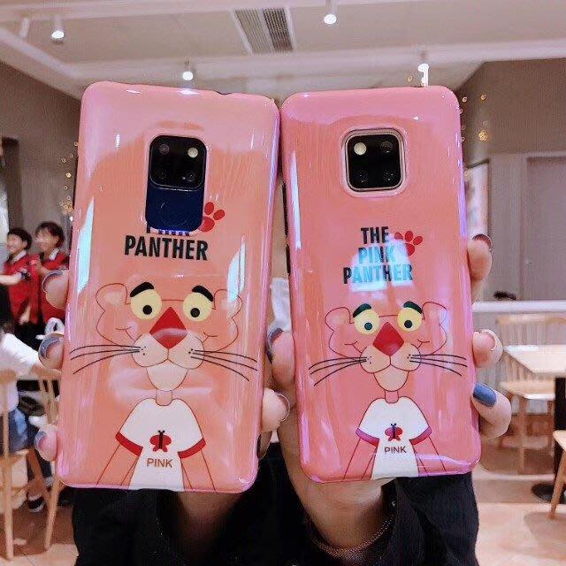 三星 S9 S8 PLUS S7edge Note8 Note9 手機殼 粉紅豹 可愛卡通 軟殼全包 防摔抗震 保護套