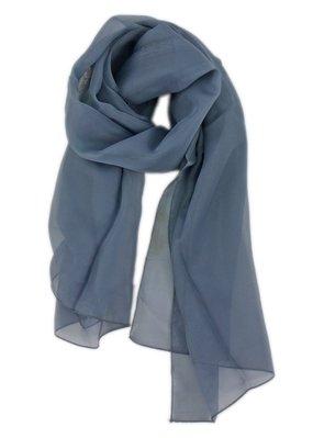 【卡漫迷】 圍巾  圍脖  絲巾 暗藍 略有瑕疵 出清販售 137*100cm ~ 特價 1 9 9