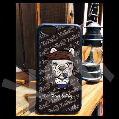 法鬥 鬥牛犬 花輪 手機殼 iPhone X 8 7 6 Plus 三星S7 S8 OPPO R9S R11 PLUS